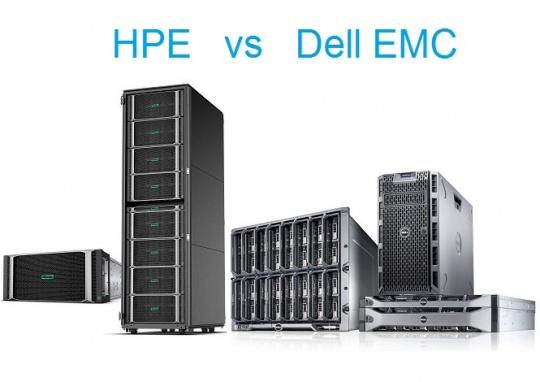 مقایسه سرورهای HPE سرورهای DELL