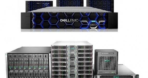 مقایسه سرور های HPE با سرور های DELL EMC
